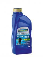 Outboard-Öl: 4T SAE 15W-40